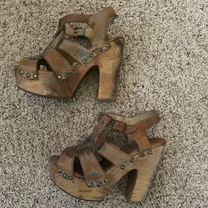 Bed Stu High Heel Sandals